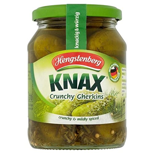 Hengstenberg Knax Crunchy Gherkins - 330g
