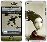 GelaSkins Protective Skin for iPod Touch 4G with Access to Matching Digital Wallpaper Downloads - Crows