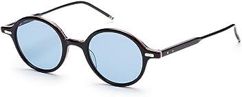 2c5527e6d4b THOM BROWNE TB 407 A-T-BLK BlackRWB w  Dark Blue-AR Sunglasses