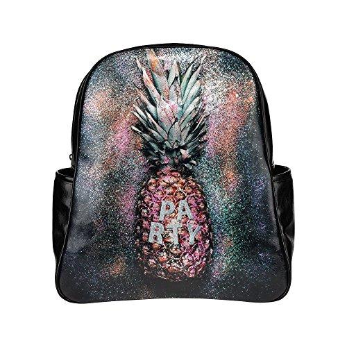 InterestPrint Tropical Fruit Pineapple PU Leather Custom ...