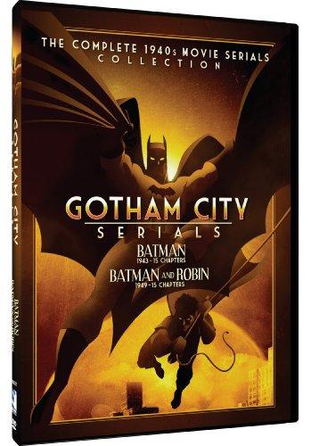 (Gotham City Serials - Batman/Batman And Robin: The Complete 1940s Movie Serials Collection)