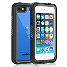 Waterproof Case for iPod 6/iPod 5, Merit Knight Series Waterproof Shockproof Dirtproof Snowproof Case Cover with Kickstand for Apple iPod Touch 5th/6th Generation for Snorkeling