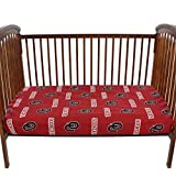 College Covers Oklahoma Sooners Baby Crib Fitted Sheet Pair - Solid (Includes 2 Fitted sheets)