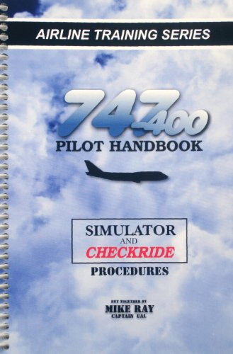 Used, 747-400 Pilot Handbook (B/W) for sale  Delivered anywhere in USA