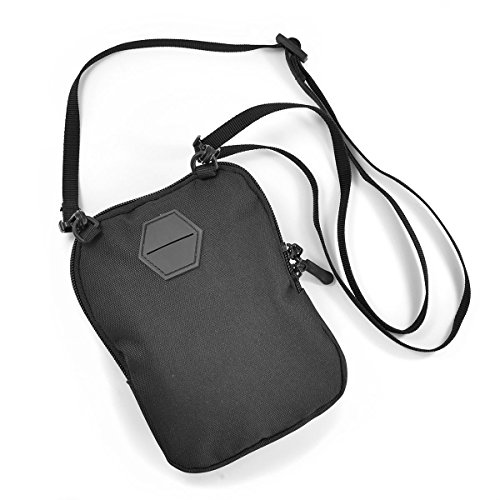 Infest Clothing Umhaengetasche Army Dude Bag schwarz (black)