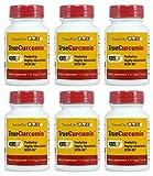 Curcumin Supplement with Essential Turmeric Oil - Highly Absorbable BCM-95 - Bioperine Free - TrueCurcumin- 30 veggie capsules - 6 Pack