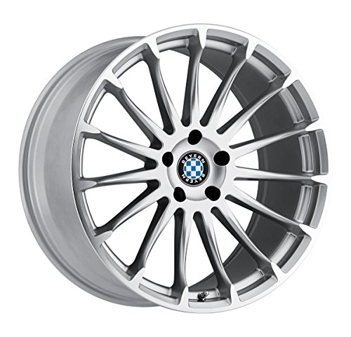Beyern Wheels - Beyern AVIATIC Silver Wheel with Painted Finish (18 x 8.5 inches /5 x 120 mm, 15 mm Offset)