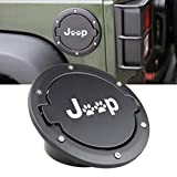 Gas Tank Cap for Jeep Wrangler 07-17 Sport Rubicon Sahara Fuel Filler Door Cover