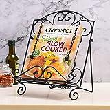 Adjustable Book Cookbook Rack Kitchen Easel Stand