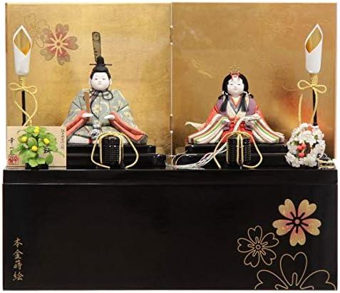 雛人形 木目込み 親王収納飾り【新小雪】[幅50cm]幸一光[193to1265-a34] 雛祭り
