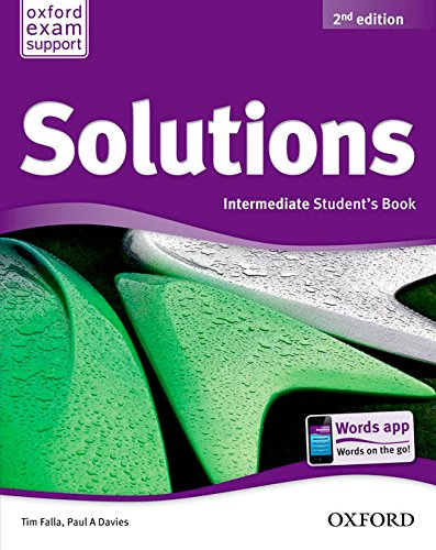 Solutions Intermediate Student's Book Pack 2ª Edición