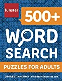 Funster 500+ Word Search Puzzles for Adults: Word