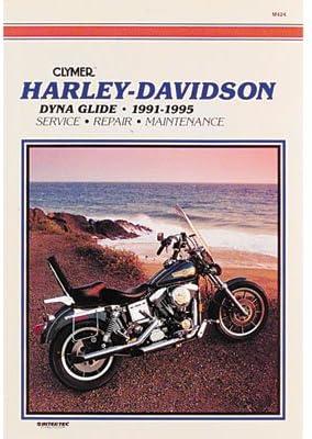 Clymer Repair Manuals for Harley-Davidson Dyna Wide Glide FXDWG/I ...