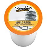 Brooklyn Beans Maple Sleigh Decaf Single-Cup Coffee for Keurig K-Cup Brewers, 40 Count
