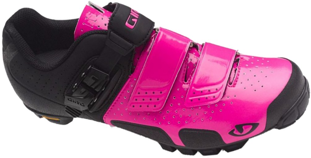 Giro Womens SICA VR70 Dirt Cycling Shoes (Bright Pink/Black - 37.5)