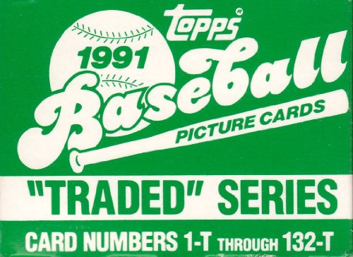 Factory Topps Traded - 1991 Topps Traded MLB Baseball Factory Sealed 132 Card Set Complete M (Mint)