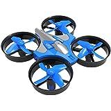 YJYdada Mini 2.4G 4CH 6Axis Gyro Headless Altitude Hold LED Remote Control RC Quadcopter Drone (Blue)