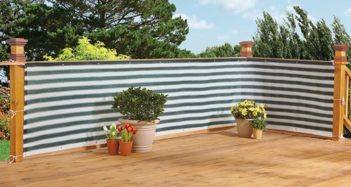 Deck & Fence Privacy Netting Screen by Bandwagon (Privacy Fence Panels compare prices)