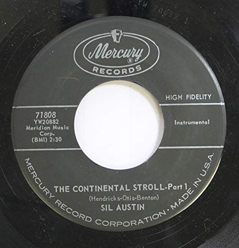- SIL AUSTIN 45 RPM THE CONTINENTAL STROLL- Part 1 / THE CONTINENTAL STROLL -Part 2