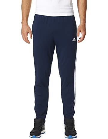 adidas ESS 3S T Pnt Sj Pantalón, Hombre, Azul (Maruni/Blanco)