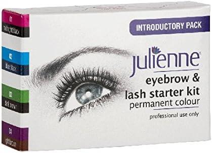 Juliana Kit de cejas y pestañas tinte 4 colores: Amazon.es ...