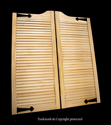 Cafe Doors by Cafe Doors Emporium | Pine Wood Cafe Doors | Prefit for 24