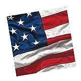 American Flag Patriotic Paper Napkins Bu