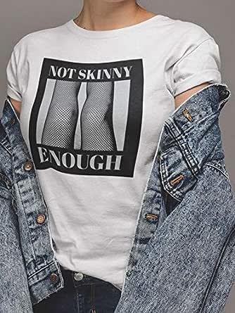 Not Skinny Enough ATIQ T-Shirt for Women, XL