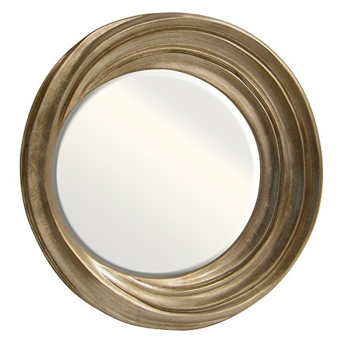 Yosemite Home Decor YMA025G Decorative Mirror Gold