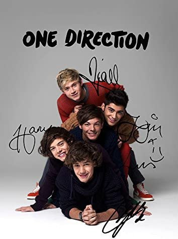 One Direction Zayn Harry Louis Liam Niall Autograph Signed A4 Poster Photo Print