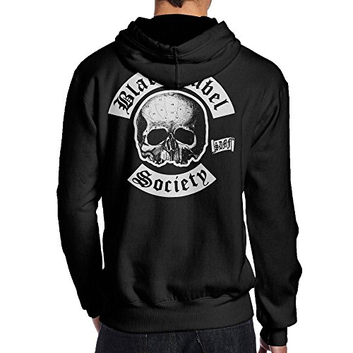 Mens Black Label Society Heavy Metal Band Back Printed Cool Pullover Sweatshirts Juniors