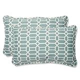 Pillow Perfect Outdoor Rhodes Quartz Rectangular