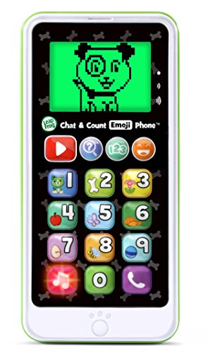 51jhuWwWm%2BL - LeapFrog Chat and Count Emoji Phone, White