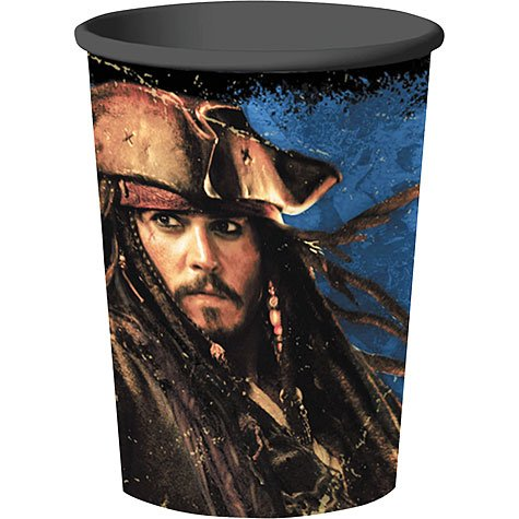 Pirates of the Caribbean 4 - 16 oz. Hard Plastic Cup (1) Party Supplies -