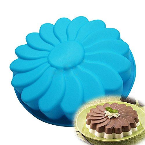 Allforhome(TM) Windmill Round Silicone Cake Baking Mold Cake Pans Tray Loaf Pizza Bakeware Mold Moulds