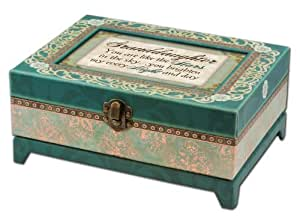 cottage garden granddaughter belle papier chest musical jewelry box with elegance finish plays. Black Bedroom Furniture Sets. Home Design Ideas