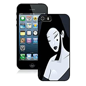 Best-Diy Nice Designed cell phone case cover With Espionage Lady Cover case cover For iPhone 5S Black cell phone case avM5KcSHZ5B cover