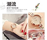 Generic Ms. watch women girls lady table _ Jin Miou km Quan Mei gold hand chain bracelet bangle wristband small table small dial ladies watches