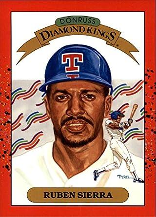 1990 Donruss Super Diamond Kings 3 Ruben Sierra Texas