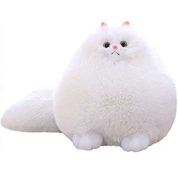 Winsterch-E - Peluche de peluche suave para niños, juguete para gato, juguete