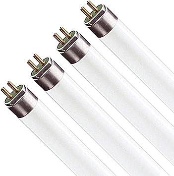 BI-PIN Base Bulbrite 860584 54 W Dimmable T5 Shape Fluorescent Bulb 20 Pack Frost
