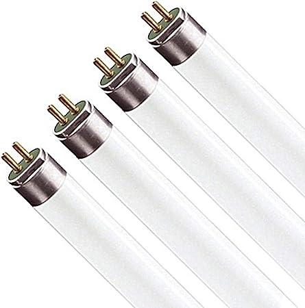 12 4FT T5 ENERGY SAVING FLUORESCENT LIGHT BULB TUBES 28 WATT-6400K PACK OF
