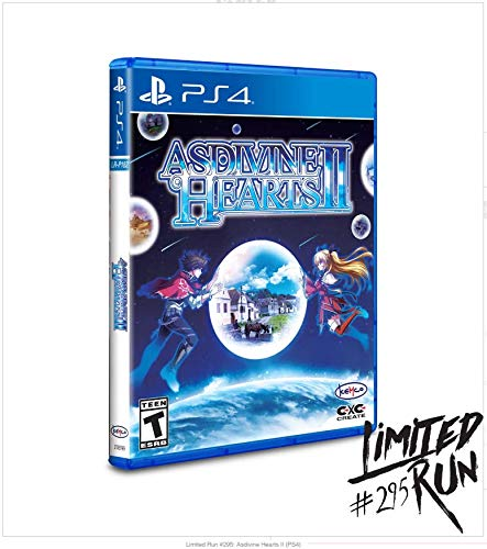 Asdivine Hearts II (Limited Run Games #295) for PlayStation 4 (PS4)