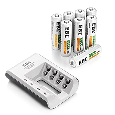 EBL 807 Battery Charger