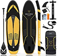 """CalmMax Inflatable Stand Up Paddle Board - 10'6""""×32""""×6"""" Portable Inflatable SUP Board with"""