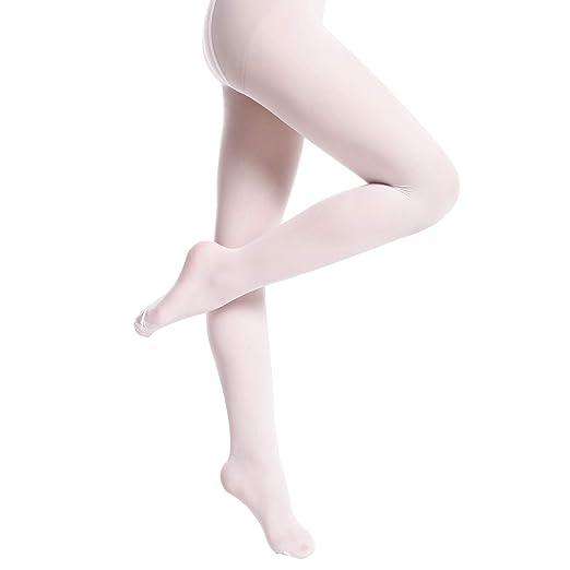 9e60d2d9b106d Amazon.com: Girls Ballet Tights Dance Pink Toddler Ultra-soft Footed ...