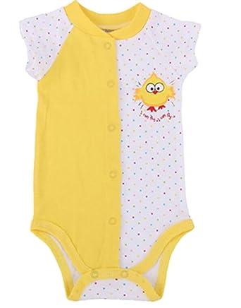 b0848e6ba192 Amazon.com  MU2M Baby s Boys Girls 100% Cotton Short Sleeve Polka ...