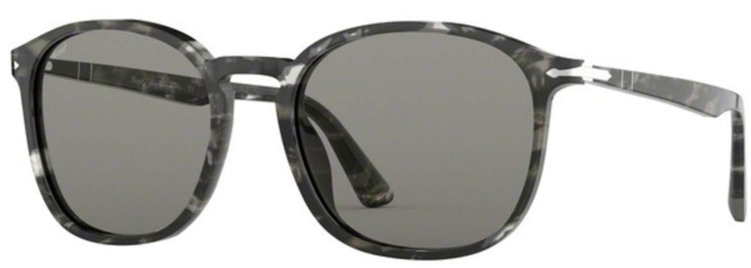ویکالا · خرید  اصل اورجینال · خرید از آمازون · Persol PO3215S Sunglasses 1080R5 Tortoise Grey/Grey + AR Lens 57mm wekala · ویکالا