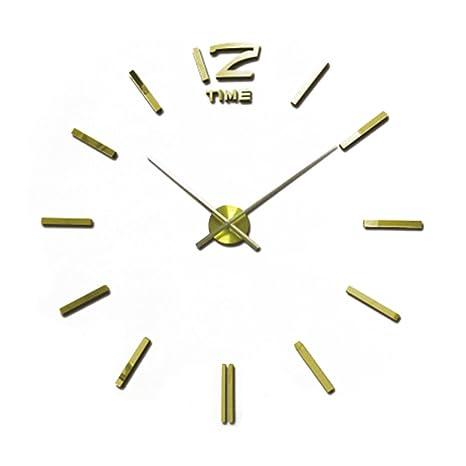 Wtzs Hot vendita 3D DIY grande orologio da parete moderno design ...
