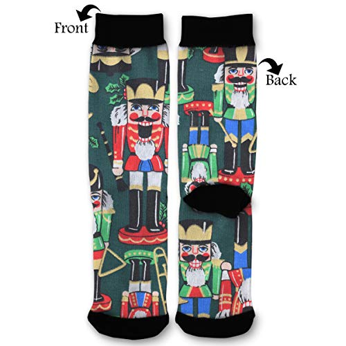 Personalized Nutcracker Unisex Casual Sports Socks Knee High Athletic Long Tube - Coat Nutcracker